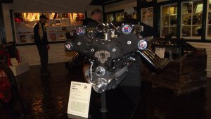 Modified Studebaker V8 for Indy racer