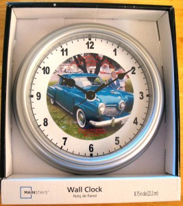 Wall Clock Trimmed